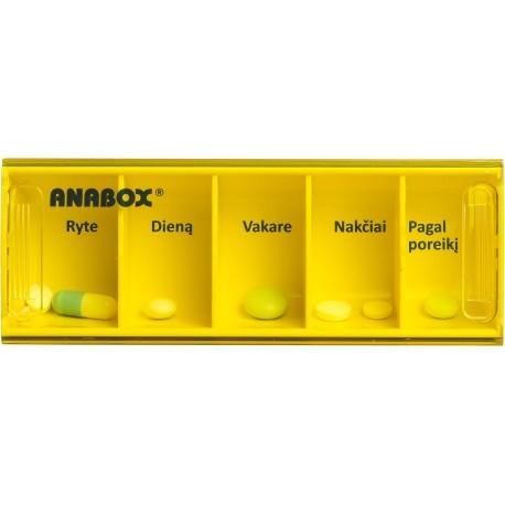 Dėžutė vaistams 1 dienai